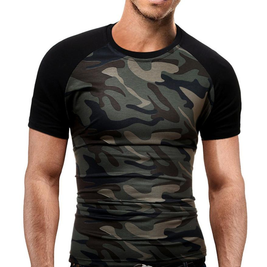 2018 summer style New Fashion O neck Camouflage T-shirt Men Breathable Army Tactical Combat T Shirt Military Dry Camo Camp Tees