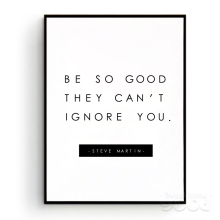Inspiration Quote Canvas Art Print Poster,  Wall Pictures for Home Decoration, Giclee Print Wall Decor YE143