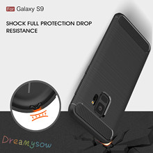 Buy Shockproof Cover Carbon Fiber Business fashion Case Samsung Galaxy S6 S7 Edge S8 S9 Plus Rugged Protective shell spigens for $1.22 in AliExpress store