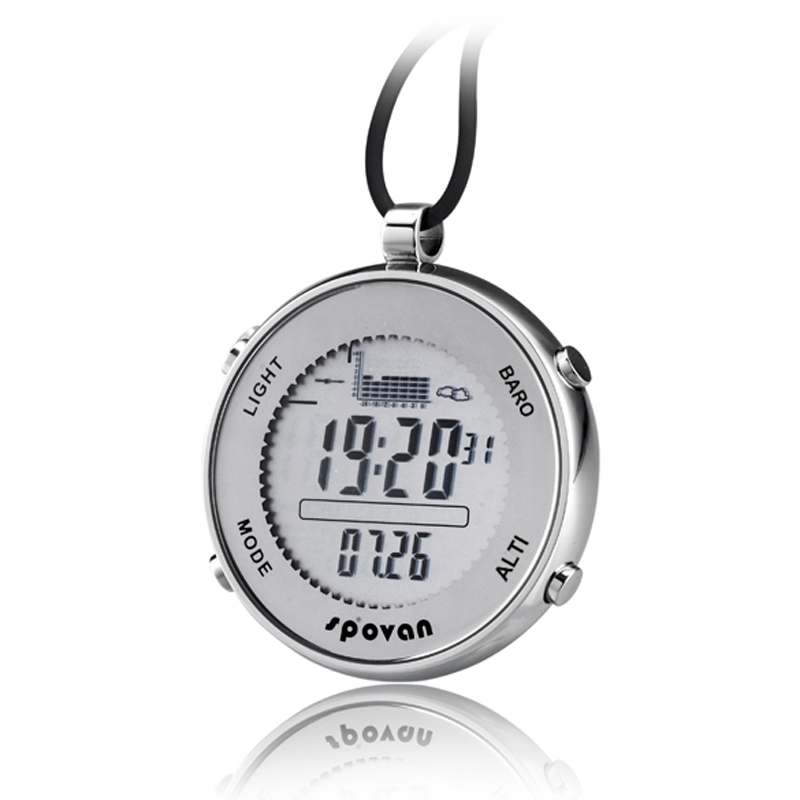 New Style Multi-functional Fishing Barometer Pocket Watch Stainless Steel 53.5*13mm<br><br>Aliexpress