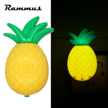 1pcs Pineapple Novelty Bedroom Living Room LED Night Light Lamp Home Decoration Baby Child Kid Gift Energy Saving Lighting