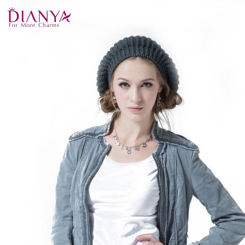 New Korean Wool Knitted Skullies Beanies hat cap Women Girls Leisure Fashion Womens Lovely Warm Wool Knitted hat C6013Îäåæäà è àêñåññóàðû<br><br><br>Aliexpress