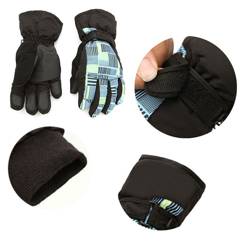 Ski Gloves Men Women Snowboard Gloves Snowmobile Motorcycle Riding Winter Windproof Waterproof Warm Gloves Snow Skiing Equipment 7