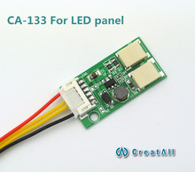 20pcs/lot CA-133 9.6V output LED constant current board down-voltage double lamp LED universal inverter for led panel