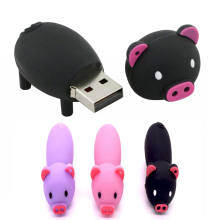 Hot sale small pig 64GB 32GB usb 2.0 16GB drive usb disk pen 4G usb flash drives thumb pendrive pet memory stick 16gb usb flash