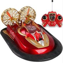 Chrismas gift super large amphibious remote control Hovercraft M020 electric rc boat model kids toy boat land and river drive