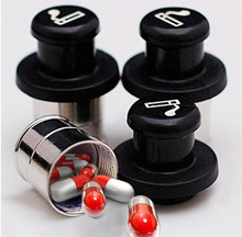 Hot Sell Pill Case Box Secret Safe Stash Car Auto Cigarette Lighter Hidden Diversion
