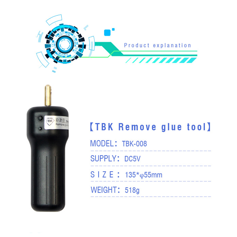 2017 For iphone LCD screen for samsung LCD oca glue clean machine, UV glue adhesive remove TBK glue remover clean tool<br>