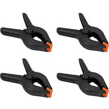 4Pcs 9cm Photography Studio Background stand holder Clips Backdrop Clamps Pegs Photographic Equipment(China)