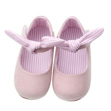 Spring Autumn Baby Girls Princess Style Sweet Bowknot Solid Color Crib Infant Pre Walkers Non-slip First Walkers Shoes(China)