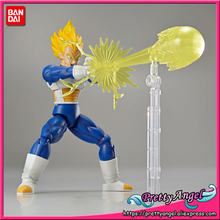 PrettyAngel - Genuine Bandai Figure-rise Standard Assembly Dragon Ball Z Super Saiyan Vegeta Plastic Model Action Figure(China)