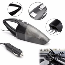 120W Portable Car Vacuum Cleaner Wet And Dry Dual Use Auto Cigarette Lighter Hepa Filter 12V Black White Blue Gray(China)