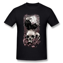 Funny best love top hot jerseys Crows & Skulls W Men t-hot Hot Selling Pre-Polyester) T sport