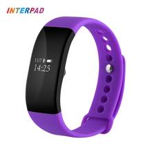 Interpad OLED Touch Screen Smart Band Bracelet For IOS Android Phone Bluetooth Sport Monitoring Pedometer Wristband Smartband