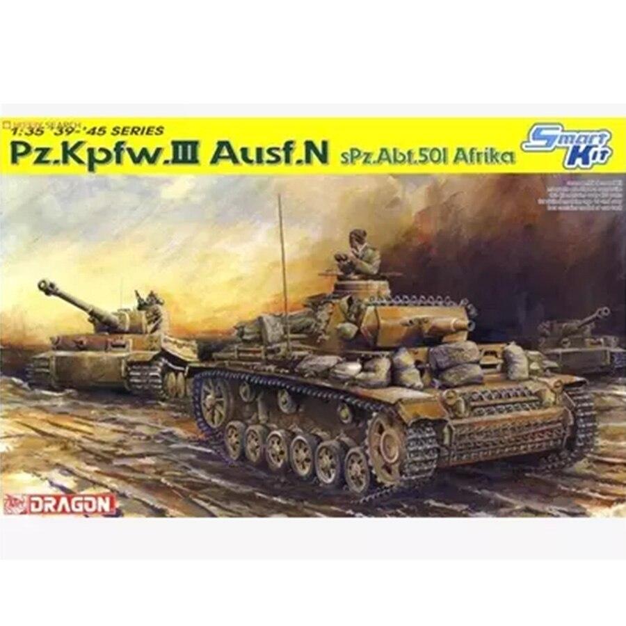 DRAGON 6431 Pz.kpfw.III Ausf N 1:35 Smart Model Kit<br><br>Aliexpress