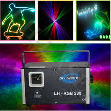 1.5w analog 45kpps RGB Top quality and good price new mini laser light, outdoor christmas laser light system