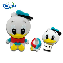 cartoon role Donald Duck USB Flash Drive cartoon Pen drive 8gb 16gb 32gb cool Gift Animal pendrives usb creativo Free shipping