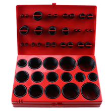 Universal Series 382pcs Car Assorted O Ring Rubber Seal Assortment Set Kit Garage Plumbing Transmission Drivetrain Tools O Ring(China)