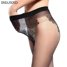 Buy 2017 Summer Female Black Thin Sexy Solid Tights Nylon Pantyhose High Quality Hosiery Women Transparent Long Stockings Panty W049