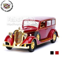 High Simulation Exquisite Model Toys: Chinese Emperors' Car Cadillac 8C Classic Cars Model 1:32 Alloy Car Model Excellent Gifts(China)