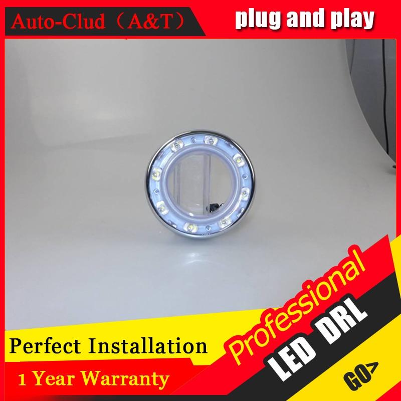 Auto Clud car styling For Toyota RAV4 LED DRL For RAV4 led fog lamps daytime running light High brightness guide LED DRL B style<br><br>Aliexpress