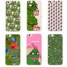 Pepe the frog tối cao swag Cứng PC Cover Quay Lại Capa Case Phone Case Cho iPhone 5 5 S SE 6 6 S 6 Cộng Với 7 7 Cộng Với 8 8 Cộng Với X 10 Bìa(China)