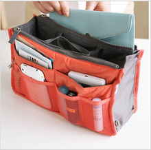 13 Colors Organizer Bag Multi Functional Make Up Bag Cosmetic Bags Storage Women Men Casual Travel Bag Makeup Handbag(China)