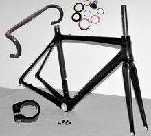 carbon road bike frame china di2 compatible 700C road racing bike carbon toray fiber carbon handlebar included full set(China)