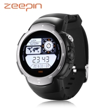 New Zeepin Blitz Android 5.1 Smartwatch Phone Waterproof 3G GPS Cam MTK6580 Quad Core Heart Rate Monitor Wristwatch for Android(China)