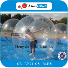 Fashionable durable Inflatable Water Rolling Ball design/super quality Human Water Bubble Ball/Water Walking Ball for adults(China)