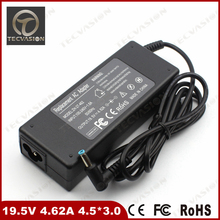 Welcome Bulk Order High Quality 19.5V 4.62A 90W 4.5*3.0mm Laptop AC Adapter Notebook Charger For HP Compaq Envy Power Supply