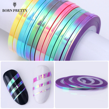 3Pcs Nail Striping Tape Line Mermaid Candy Color 1mm 2mm 3mm Adhesive Sticker DIY Nail Art Tool Decals Manicure Decoration(China)