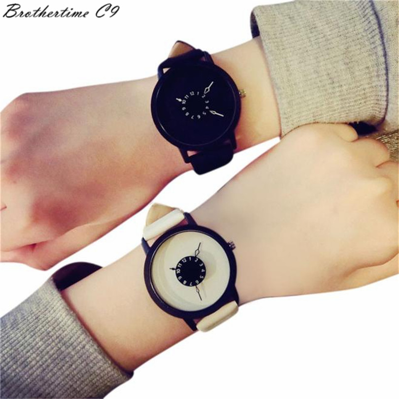 2016 new best-selling male ladies luxury watches famous brands Fashion Lovers Men Women Leather Band Quartz Analog Wrist Watch<br><br>Aliexpress