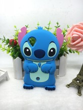 3D SILICONE CARTOON STITCH Case For LG Google Nexus 5 E980 Luxury Cover Case for LG Nexus 5 SILIOCNE SFOT CELLPHONE COVER SKIN