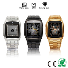 Super high quality man smart wearable watch phone classic design direct buy from China factory good specical watch gift(China)