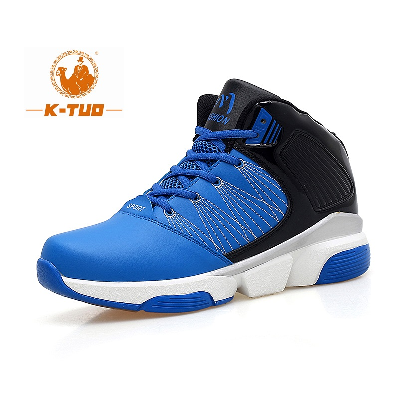 K-TUO High Top Basketball Shoes Men Boots Breathable Non Slip Shoes Mens Sports Air Basketball Outdoor Sneakers KT-9910(China)