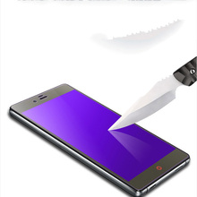 GXE Anti Blue Light Anti UV 9H Tempered Glass Eye-care Purple Screen Protector For ZTE Nubia Z11 Max / Z11 mini / Z11 mini S(China)
