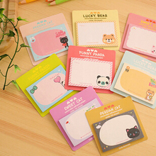 Kawaii Little Animals Mini Memo Notepad,note Book&memo Pad,sticky Notes Book Mark