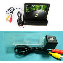 Color  SONY CCD Car Chip Rear View BACKUP PARKING Camera  for Kia Optima 2010 2011 / KIA K5 + 4.3 Inch foldable LCD TFT Monitor