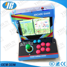 "Mini Arcade console with 10"" LCD screen 999 in 1 mutil games arcade cabinet stick Home game"
