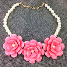 Fashion Brand Flower Pendants Necklaces Wholesale Designer Women Necklaces & Pendants Jewelry Name Statement Necklace For Women