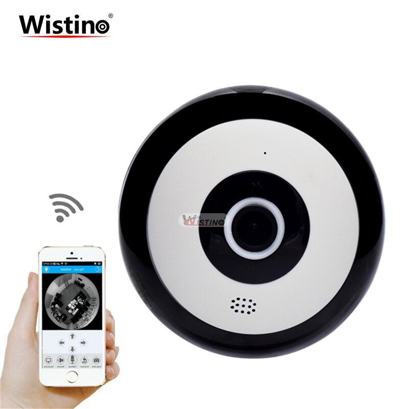 Wistino V380 1.3MP Baby Monitor 960P Wireless IP Camera Fisheye HD WIFI CCTV Security Camera 360 degree 3D VR Video Surveillance<br>