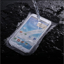 5.7'' Diving Waterproof Bag For iphone 6/5/5s Transparent Water Proof Phone Pouch Case For Samsung Galaxy S6 LeEco Le 2/Le 2 pro