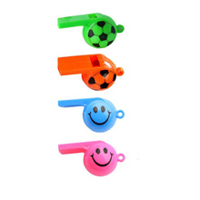 12 PCS Soccer Football Whistles Pack Party Favors Sports Whistles Party Birthday new(China)