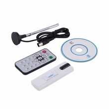 USB DVB-T2 HDTV Digital TV Stick Remote Receiver DVB-C DV ESY1 FM DAB