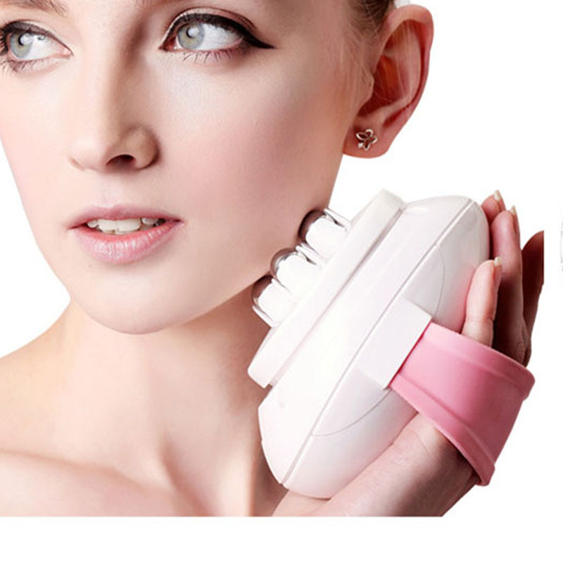 Face Slimmer Electric Roller Massager Fat Body Viabrating Slimming Massage Weight Loss Relaxation Belly Wasit Slimming Massage<br>