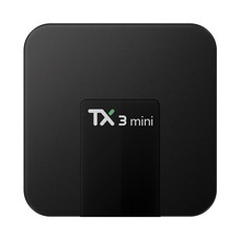 TX3 Mini Set-top TV Box S905W 2.4GHz WiFi Android 7.1 1GB/2GB RAM + 16GB ROM Support 4K Support Miracast Airplay DLNA(China)