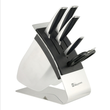 Fashion Kitchen Knife Block Creative Knife Holder Stand Cutting Knives Storage Plastic Knife Rack Holder Kitchen Supplies