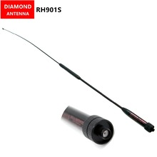 DIAMOND RH901S SMA-Female 144/430MHz Dual Band Antenna for BaoFeng UV-82 UV-5R GT-3 MarkII UV-5RE Plus BF-F8 RT-5R BF-888S Radio