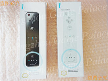 For Nintendo Wii Controller Black color Left Right Controller Built in Motion Plus free shipping(China)